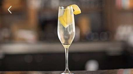 A French 75 is a perfect cocktail for