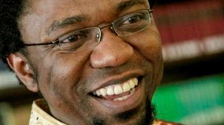 Patrice Nganang, a professor of comparative literature and