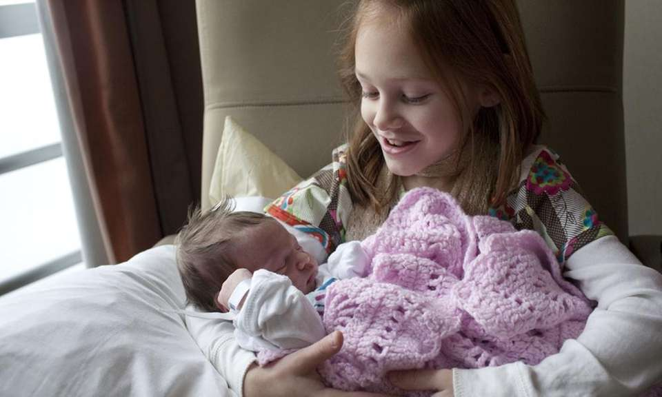 Sabrina and Frank Ameruoso welcomed their daughter Mia