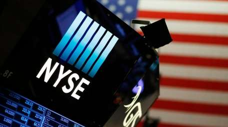 A logo for the New York Stock Exchange