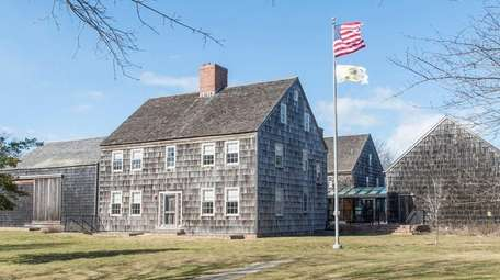 East Hampton Town Hall is shown on Feb.