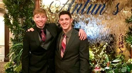 From left, Logan Witte and Adam Rotbart at
