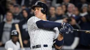 Yankees' Aaron Judge hits a three-run home run