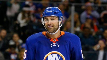 Johnny Boychuk of the New York Islanders on