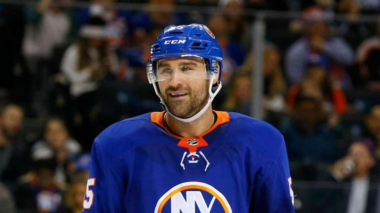 Johnny Boychuk of the New York Islanders on