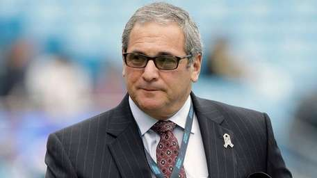 Then-Panthers general manger Dave Gettleman on Nov. 8,