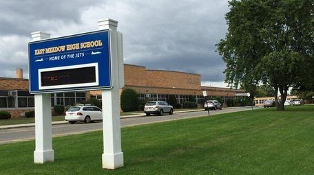 East Meadow High School is seen on Sept.
