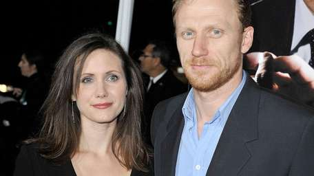 Kevin McKidd and his wife, Jane Parker, attend