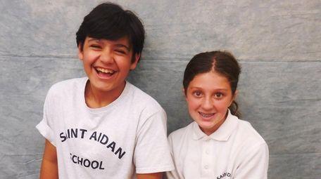 Kidsday reporters Colin Dowd and Lauren Jones tested