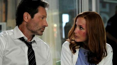 David Duchovny and Gillian Anderson star in