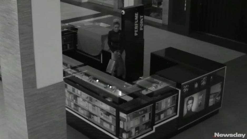Surviellance video released by Nassau County police shows