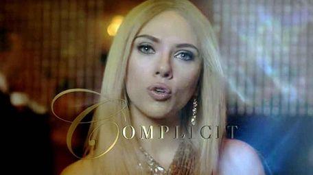 Scarlett Johansson portrays Ivanka Trump in a