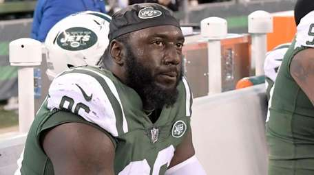 Jets defensive end Muhammad Wilkerson has been benched