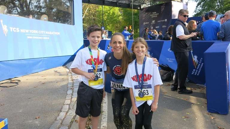 Kidsday reporters Brendan Riordan and Annemarie Jones in