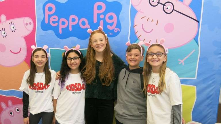 Harley Bird, the voice of Peppa Pig, with