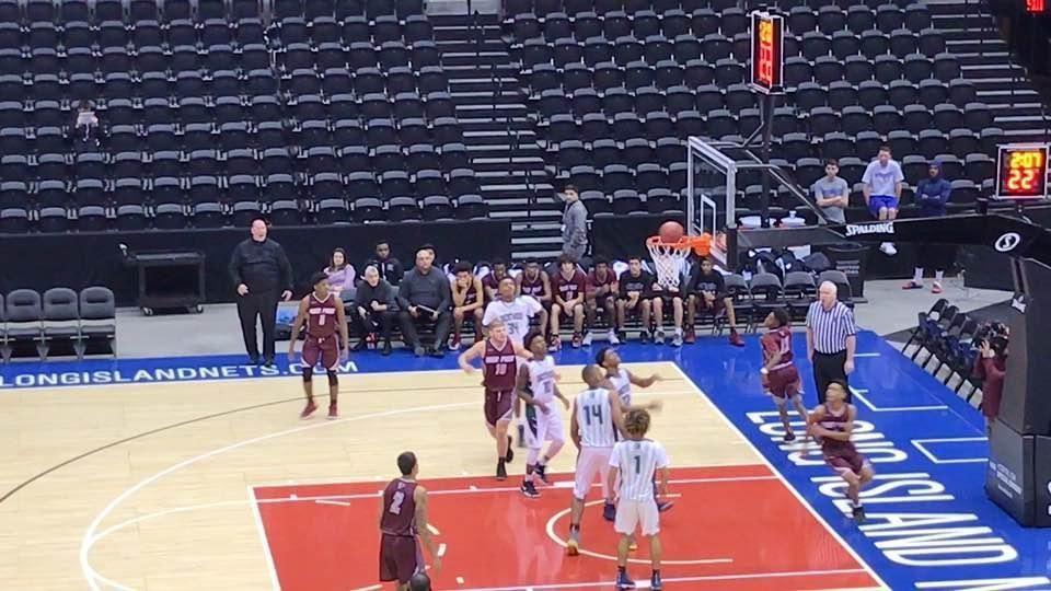 Deer Park boys basketball defeats Brentwood at Nassau