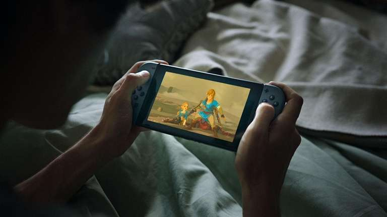 Nintendo Switch is a good choice for families
