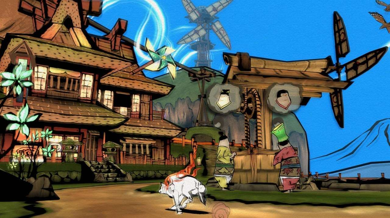 Okami HD review: Japanese game is like a painting come to life | Newsday
