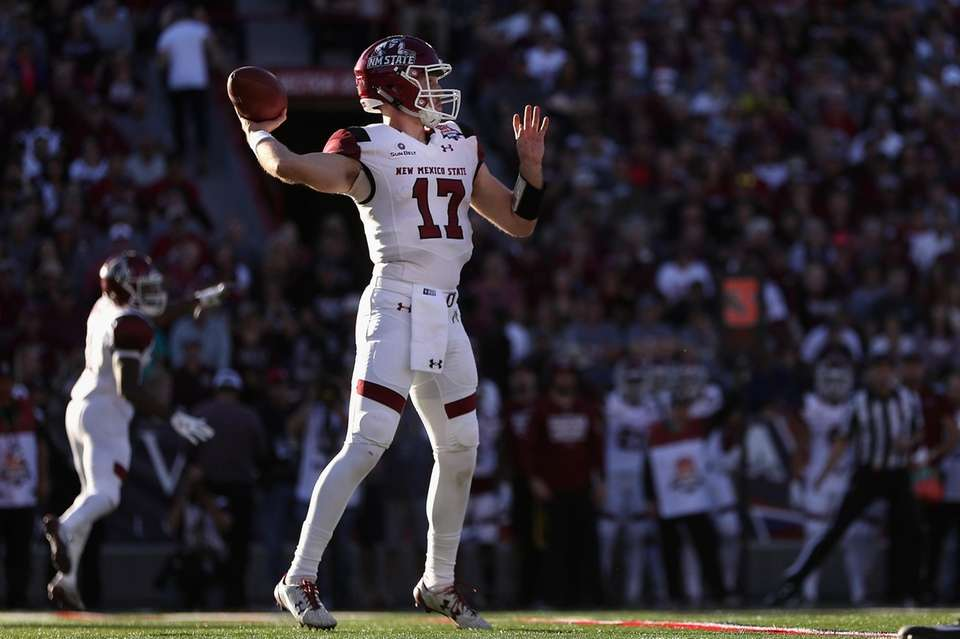 New Mexico State 26, Utah State 20 Date: