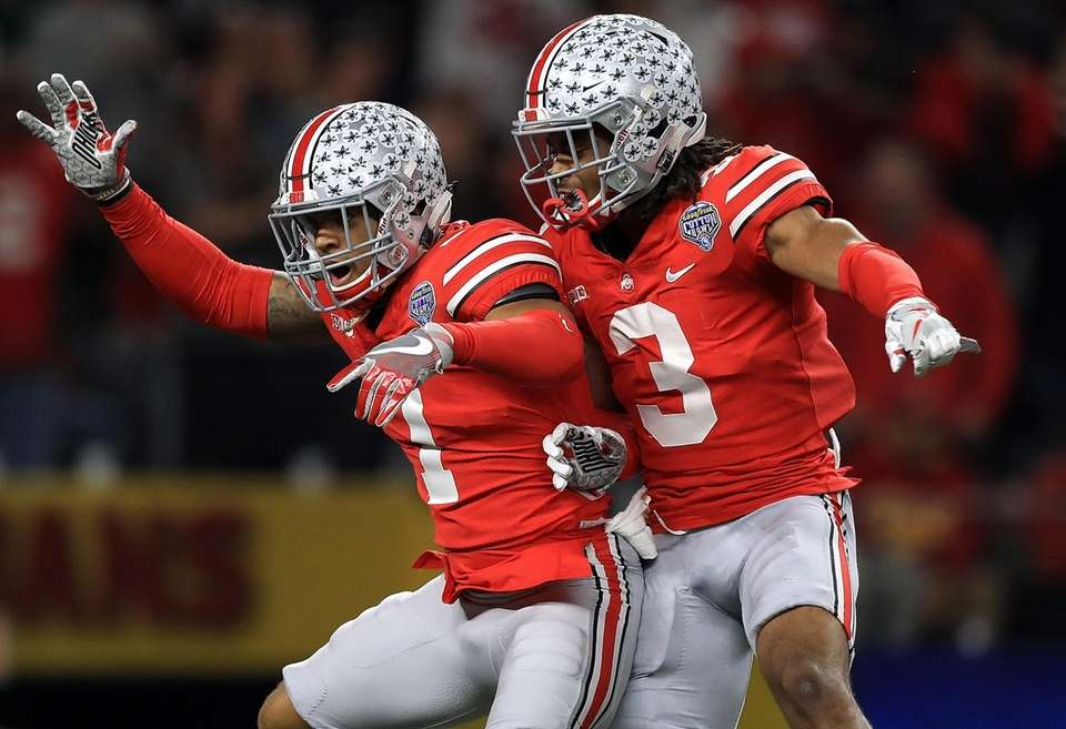 Ohio State 24, USC 7 Date: Friday, Dec.