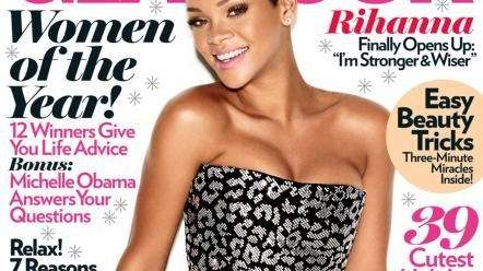 Rihanna is named one of Glamour's 2009 Women