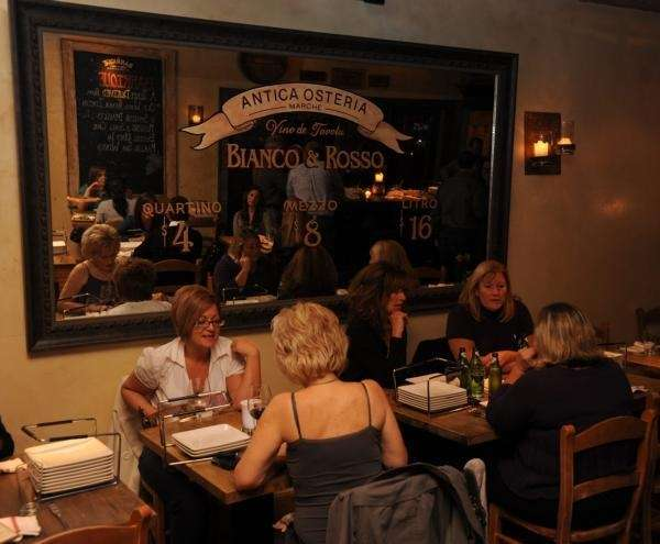 Patrons dine at Barrique Kitchen and Wine Bar