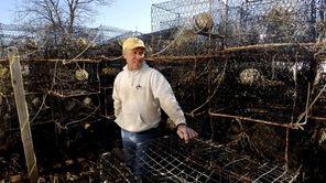 Bayman Frank Sloup, 63, of Bay Shore, stands