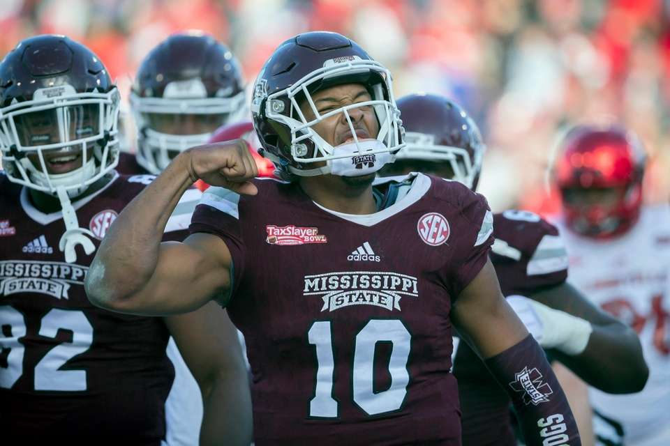 Mississippi State 31, Louisville 27 Date: Saturday, Dec.