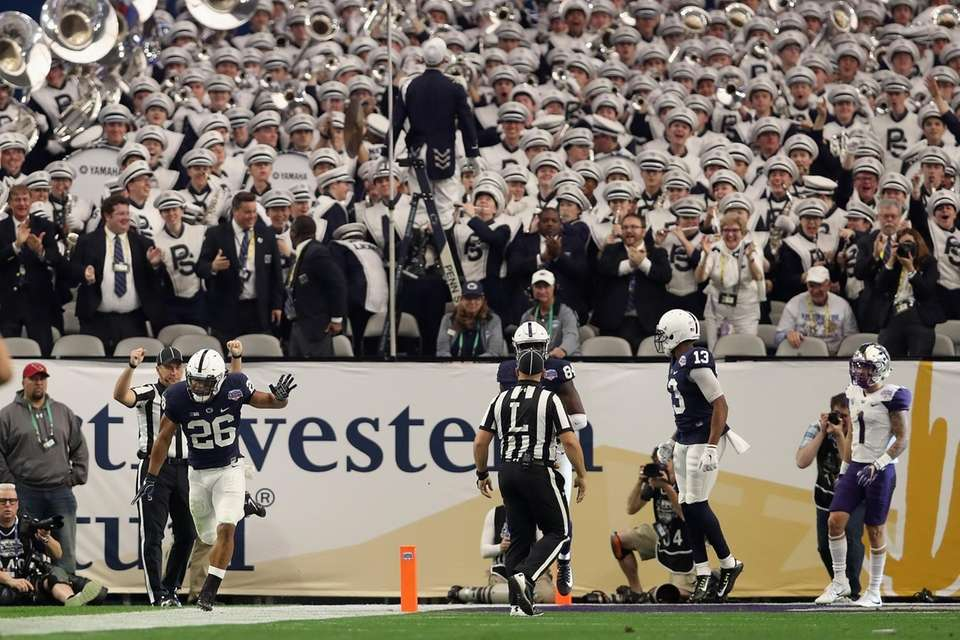 Penn State 35, Washington 28 Date: Saturday, Dec.