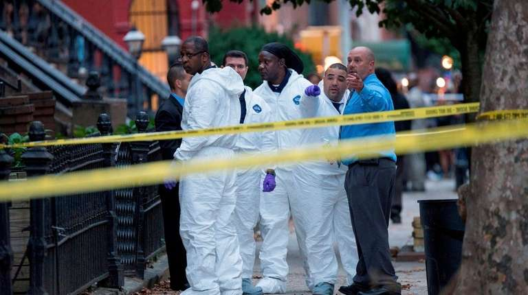 New York City Police Department Crime Scene investigators