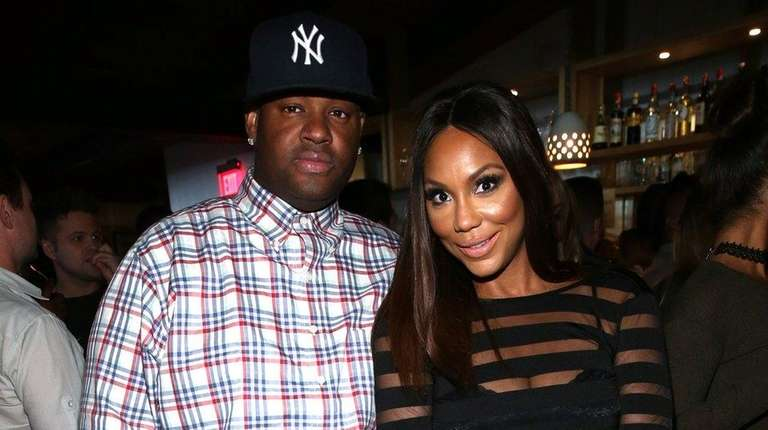 Songwriter Vincent Herbert and singer Tamar Braxton on