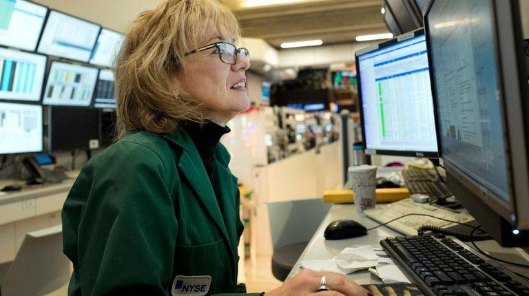 Maria Averna, a lead supervisor for NYSE operations,