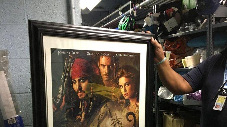 A framed