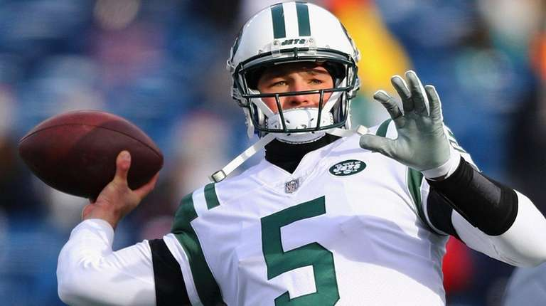 Former Penn State star Christian Hackenberg didn't play