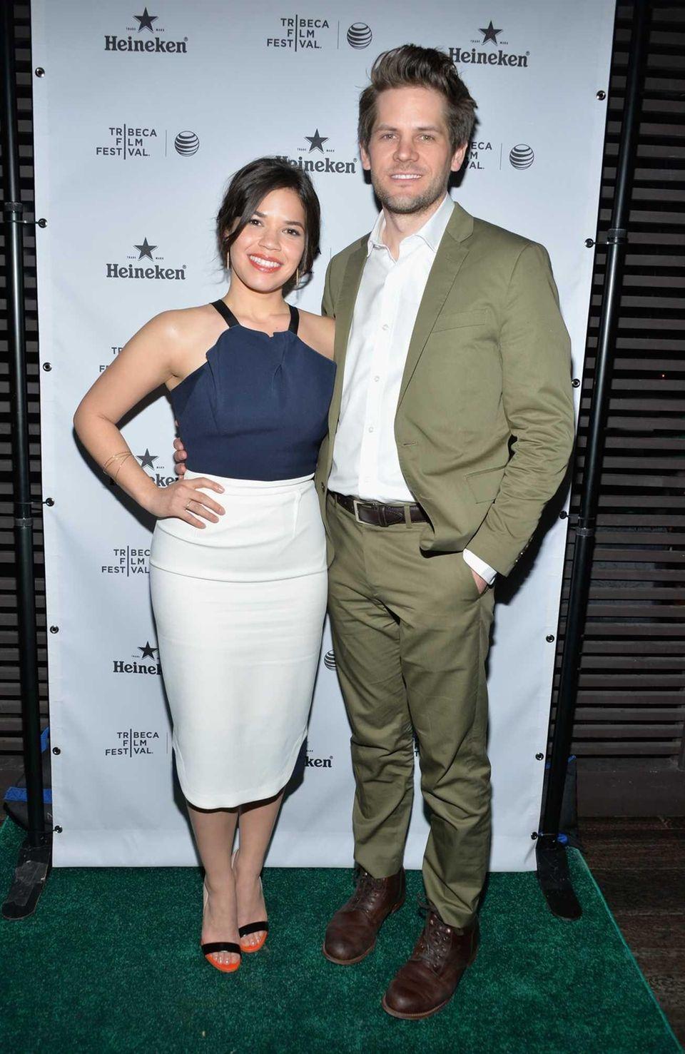Actress America Ferrera and director Ryan Piers Williams