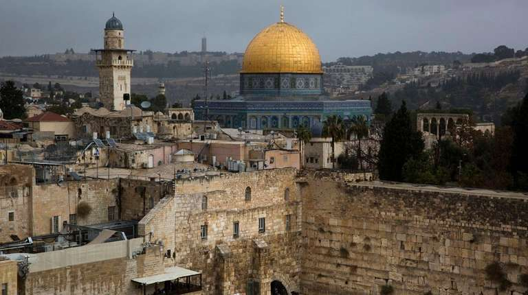 A view of the Western Wall and the