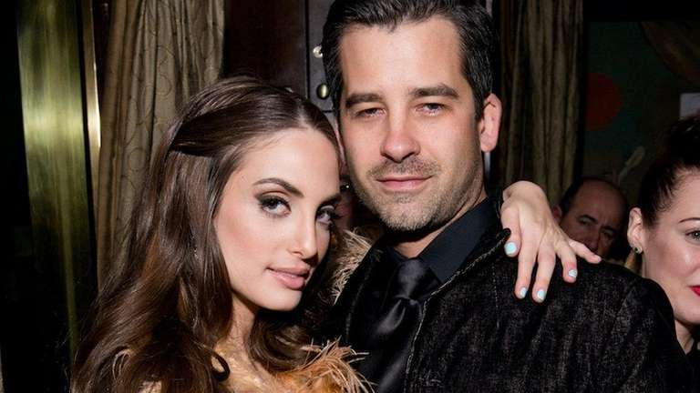 alexa ray joel and ryan gleason attend cafe