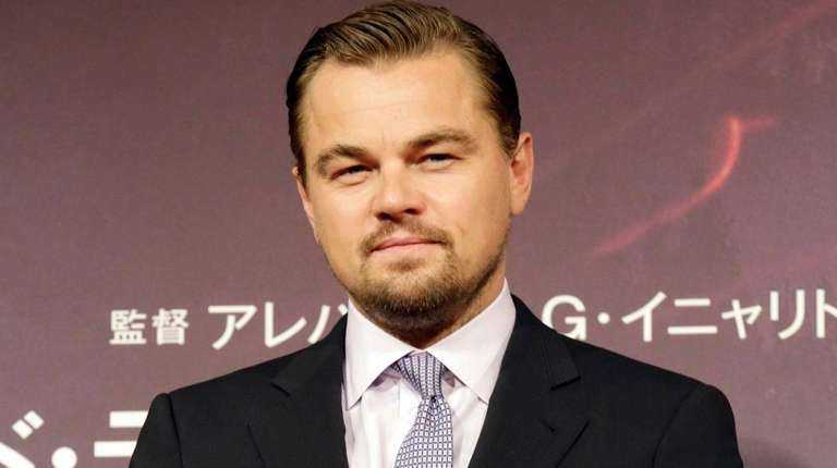 Leonardo DiCaprio is up for an honor.