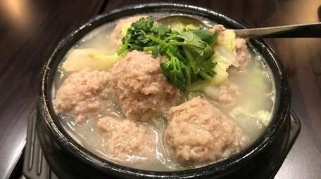 Pork meatball with cabbage is one of the