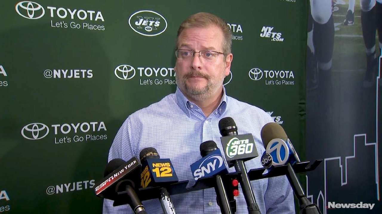 Jets general manager Mike Maccagnan said the franchise