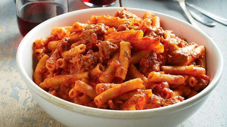 Ziti with Italian Sausage from