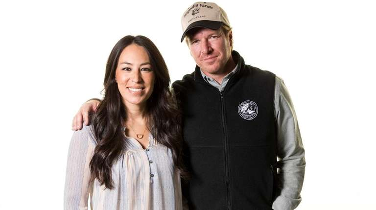Joanna and Chip Gaines, seen here on March