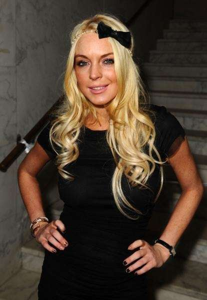 Actress Lindsay Lohan attends Rock The Kasbah hosted