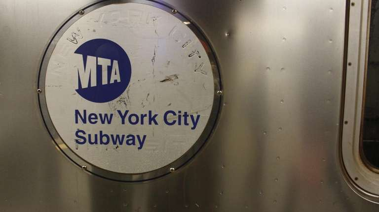 The MTA New York City Subway sign photographed