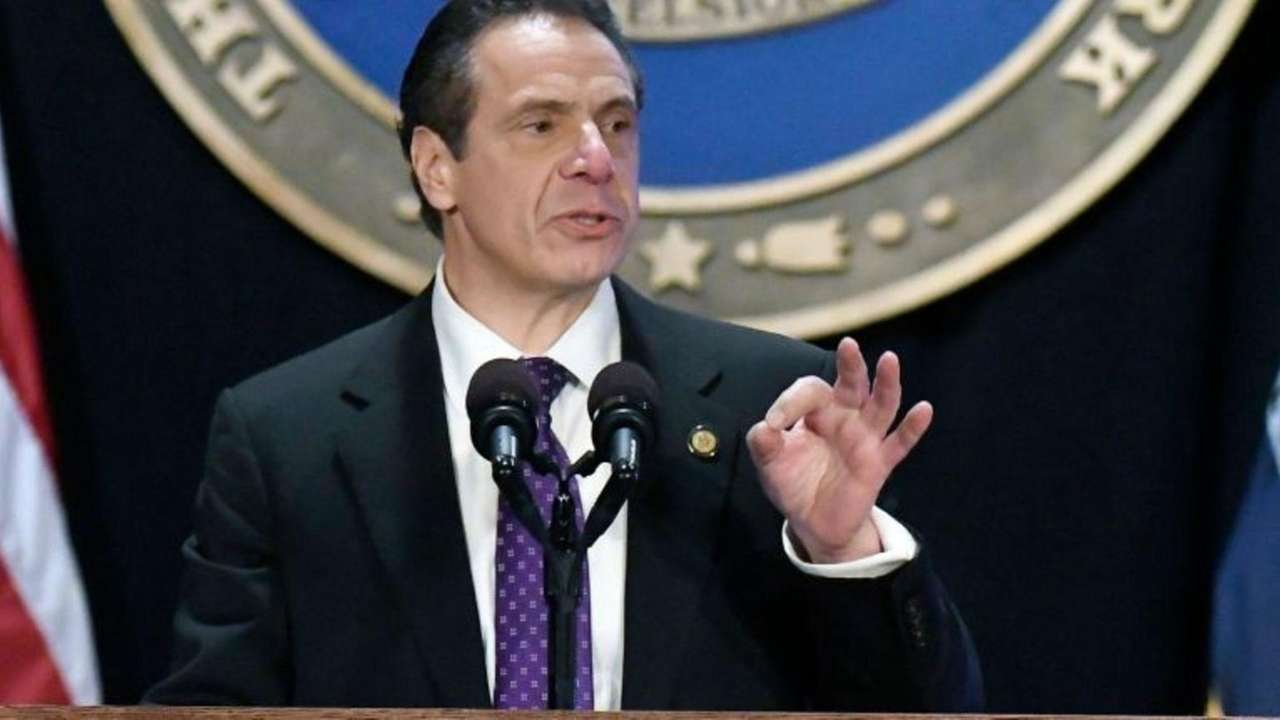 Taking aim at Washington, Gov. Andrew M. Cuomo