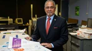 Greg Demetriou, president of Lorraine Gregory Communications, seen