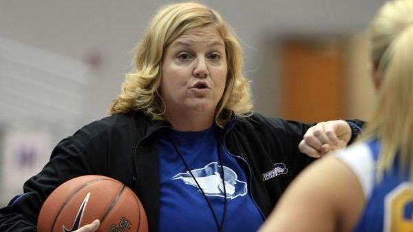 Hofstra University Women's Basketball coach, Krists Kilburn Stevesky,