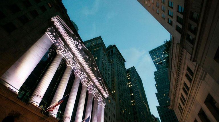 The New York Stock Exchange on Oct. 8,