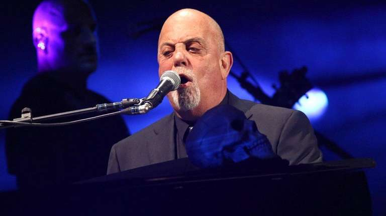 Billy Joel In Concert At Madison Square Garden