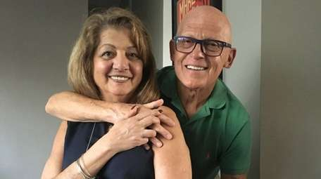 Marie and Anthony Battaglia of Harbor Isle celebrated